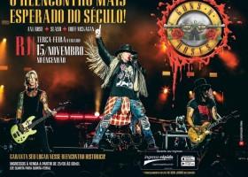 Show do Guns n' Roses no Rio agora tem endereço