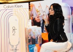 Blogueira Jade Seba participa de Lançamento do Perfume CK2 em São Paulo