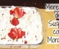 Aprenda a fazer tapioca com suspiro e merengue de morango