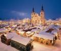 Mercados natalinos de Stuttgart (Schiller Square) e Ludwigsburg