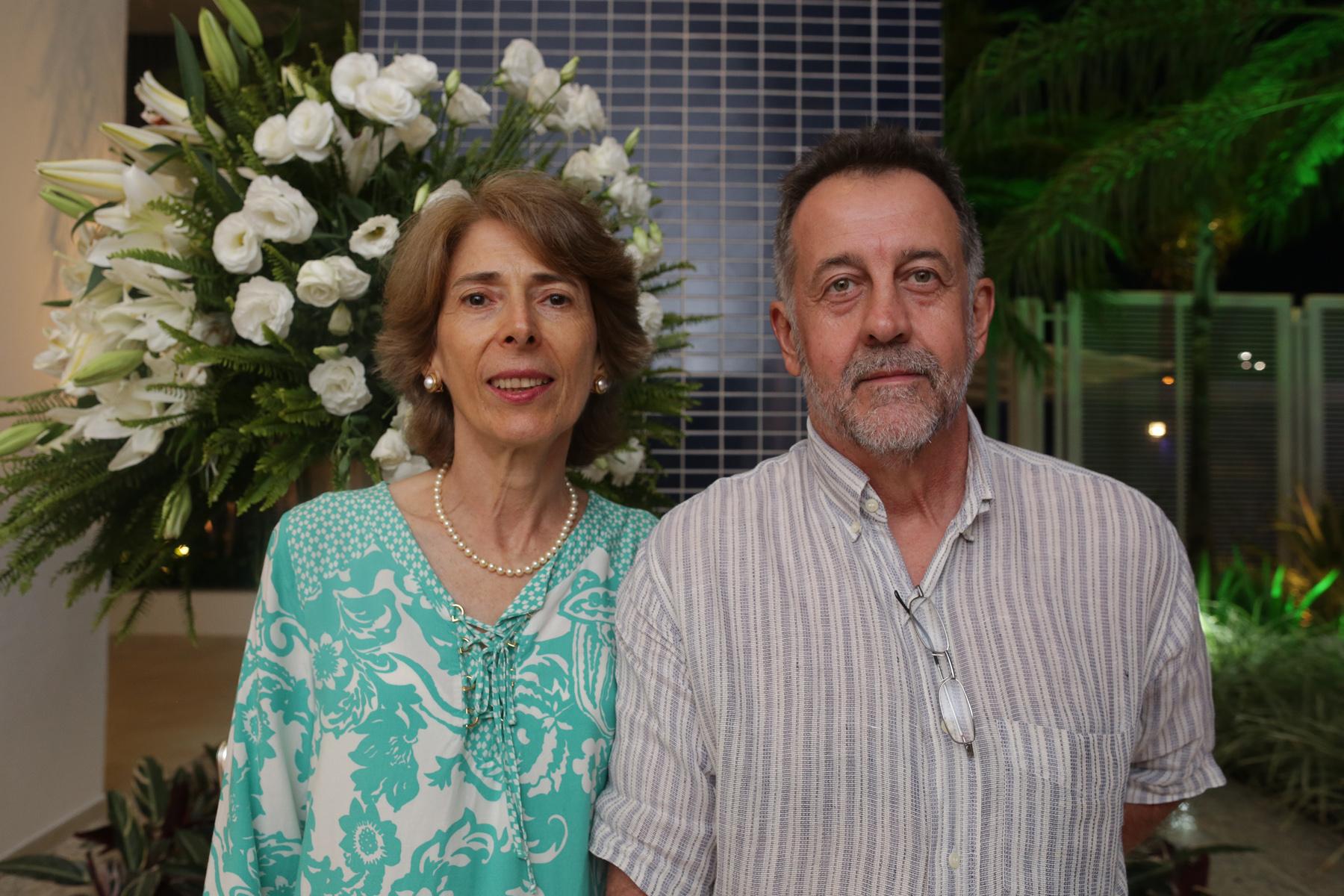Sandra Celanti Dotta e esposo Antonio Benedito Dotta.