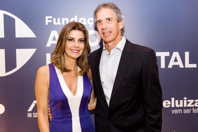 Fabiana Scaranzi e Alvaro Etchenique