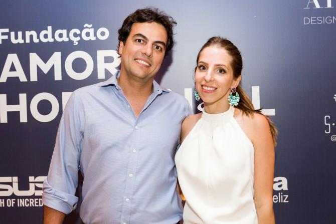 Stella Jacintho e Sergio Rudge