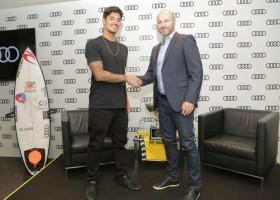 Gabriel Medina é o novo atleta da Audi do Brasil