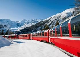 Viaje da Itália à Suíça com o Bernina Express – Por Itália Em Portugês