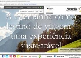 DZT LANÇA NOVO MAPA DO TURISMO SUSTENTÁVEL