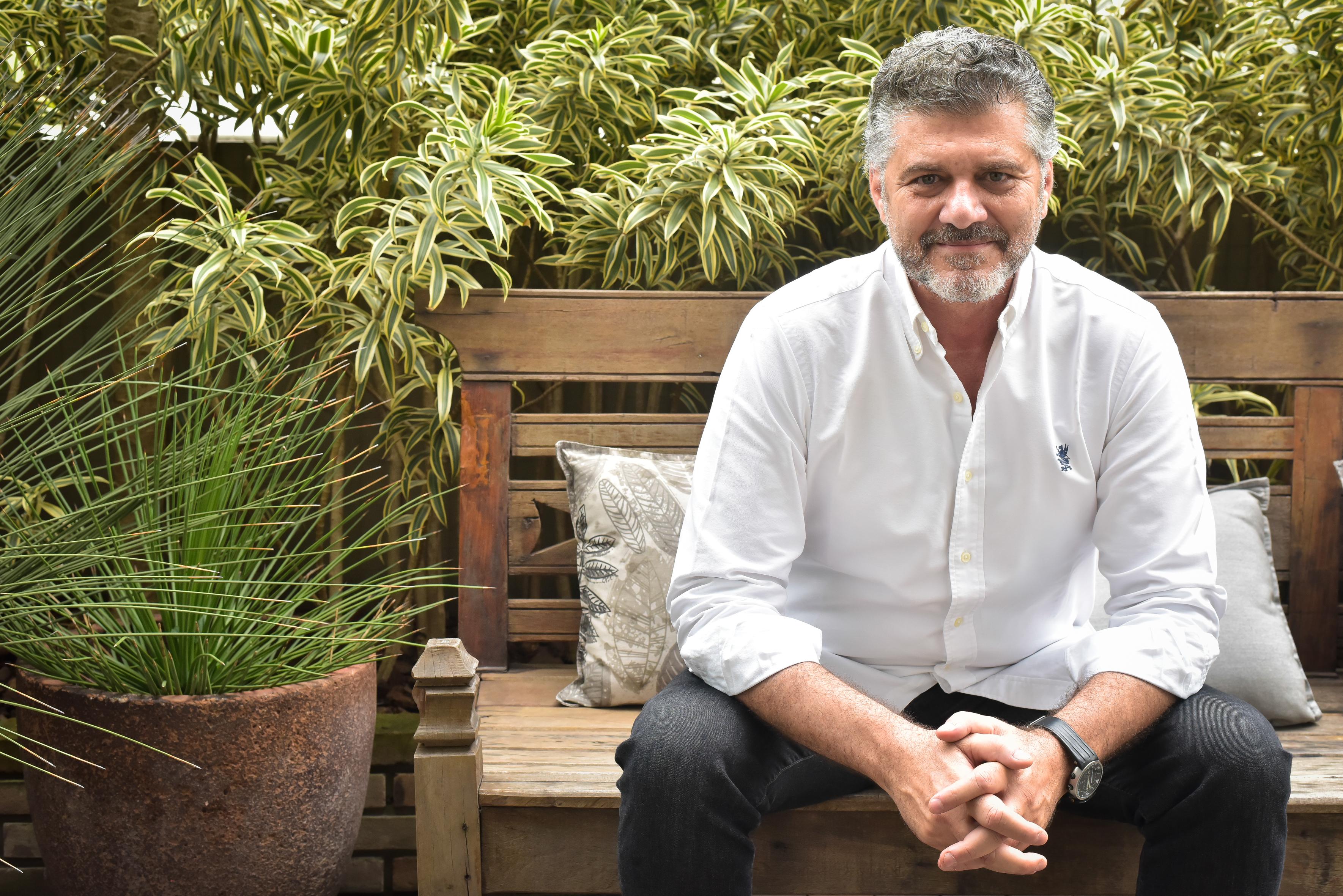 O empresário Fabrizio Giannone que aterrissa em Campo Grande no próximo dia 21 (terça-feira) para o lançamento da coleção Inverno 2017.