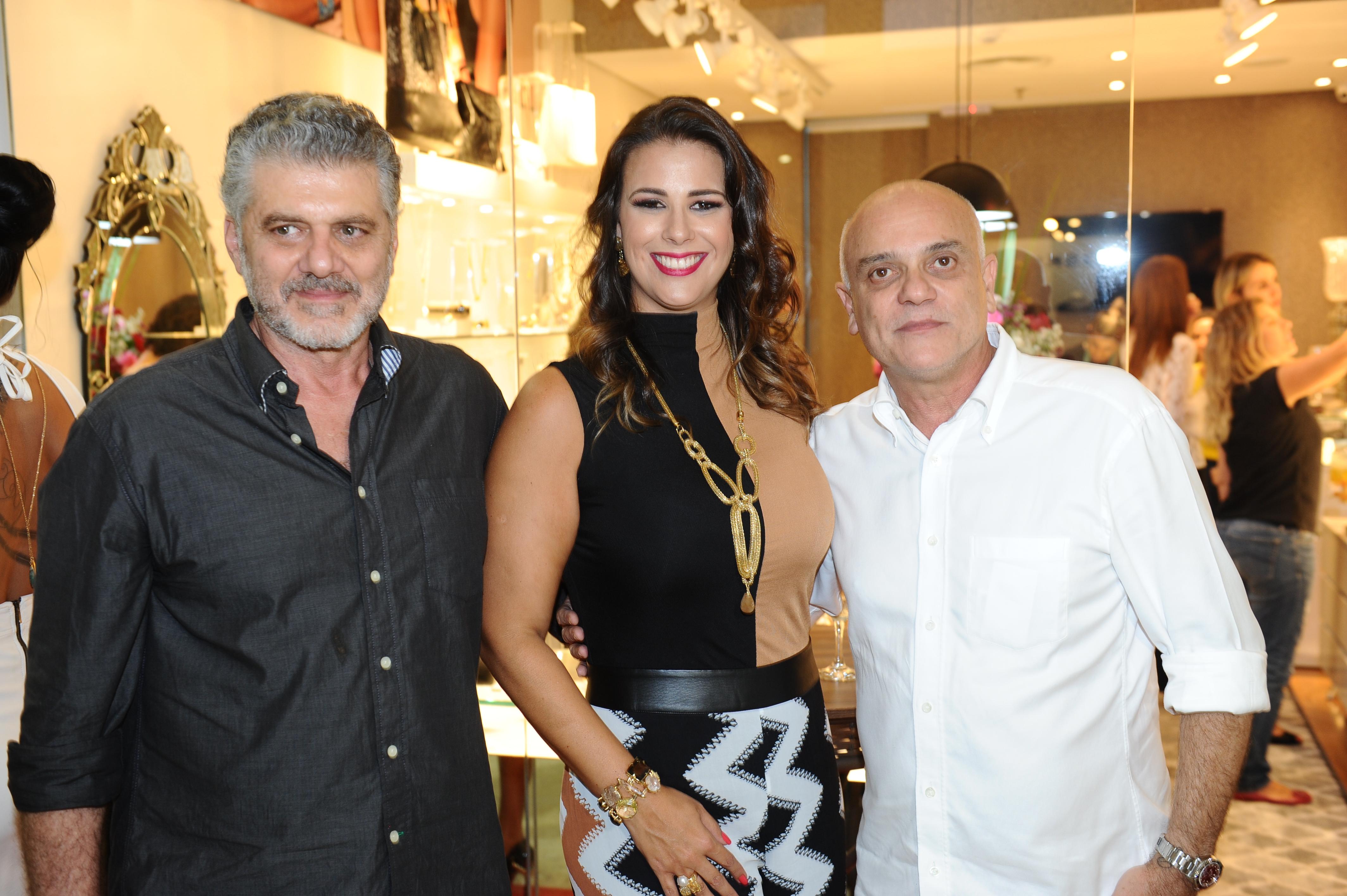 Fabrizio Giannone, Bianca Raffi e José Marques