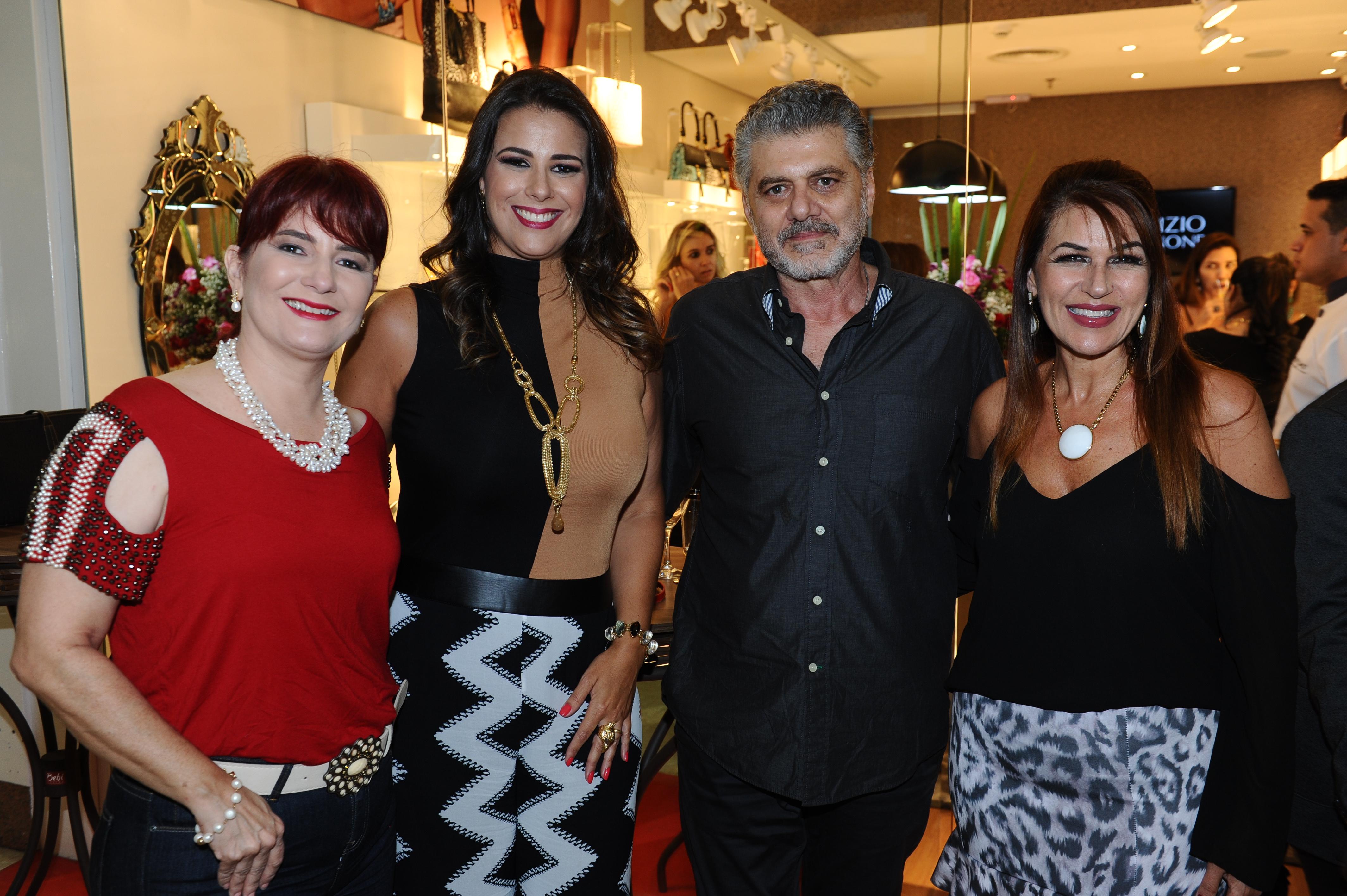 Lucy Duarte, Bianca Raffi, Fabrizio Giannone e Mônica Fernandes