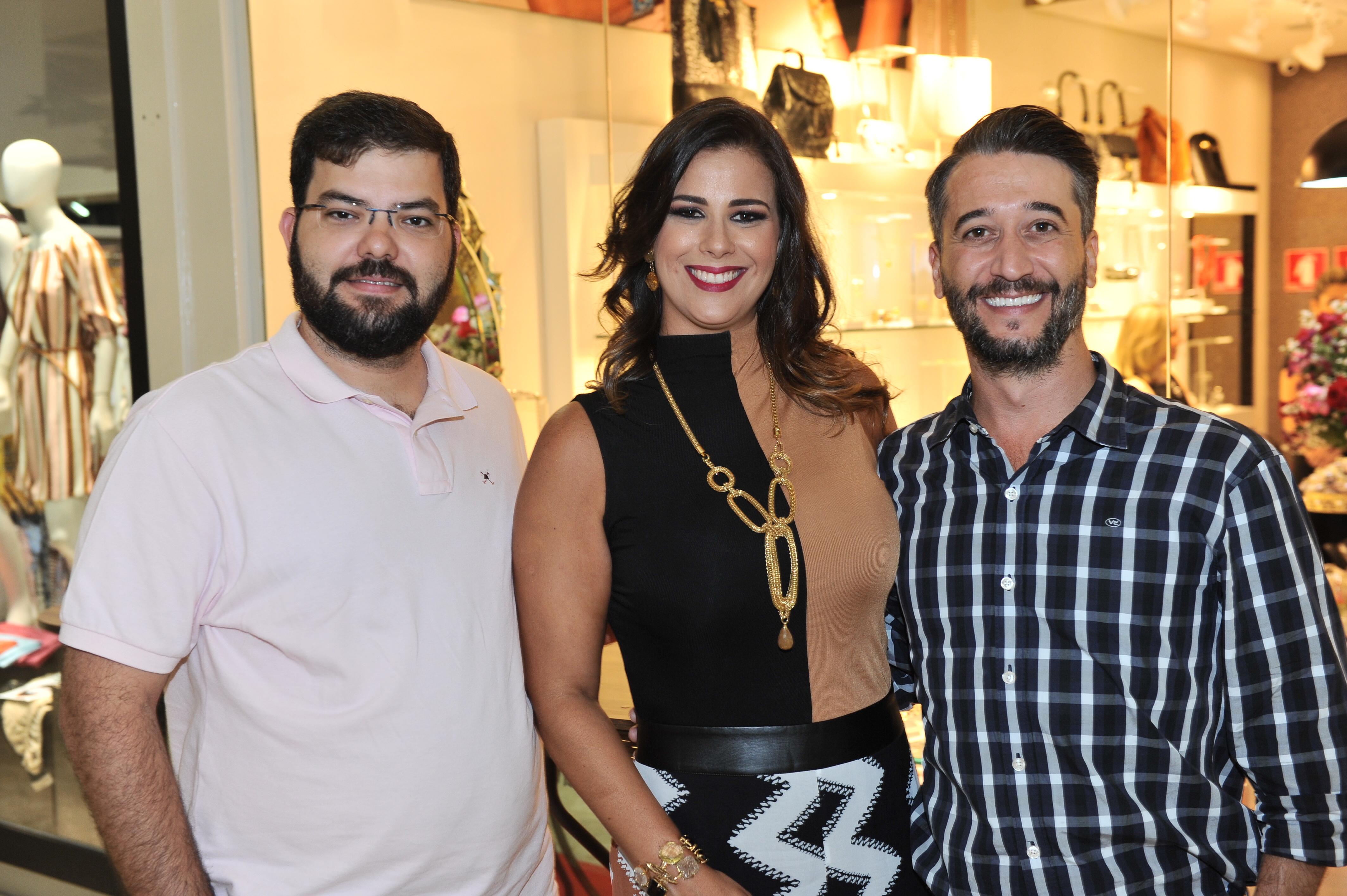 Luiz Henrique Pereira, Bianca Raffi e Henrique Attilio