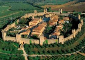 Monteriggioni, uma preciosidade medieval – Por Itália Em Português