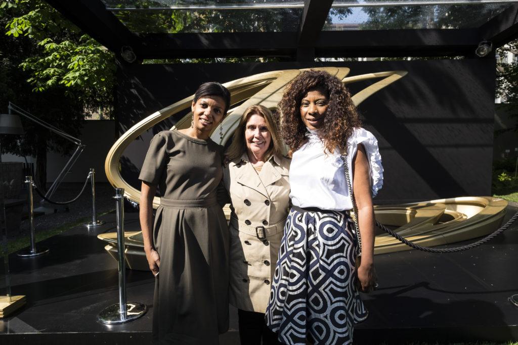 Paula Acosta, Dulce Angela Procopio e Denise Brito
