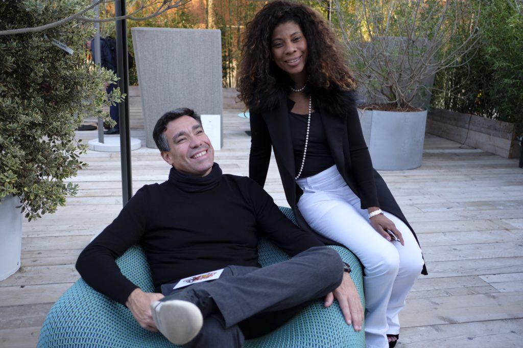 Luiz Paulo Andrade e Denise Brito