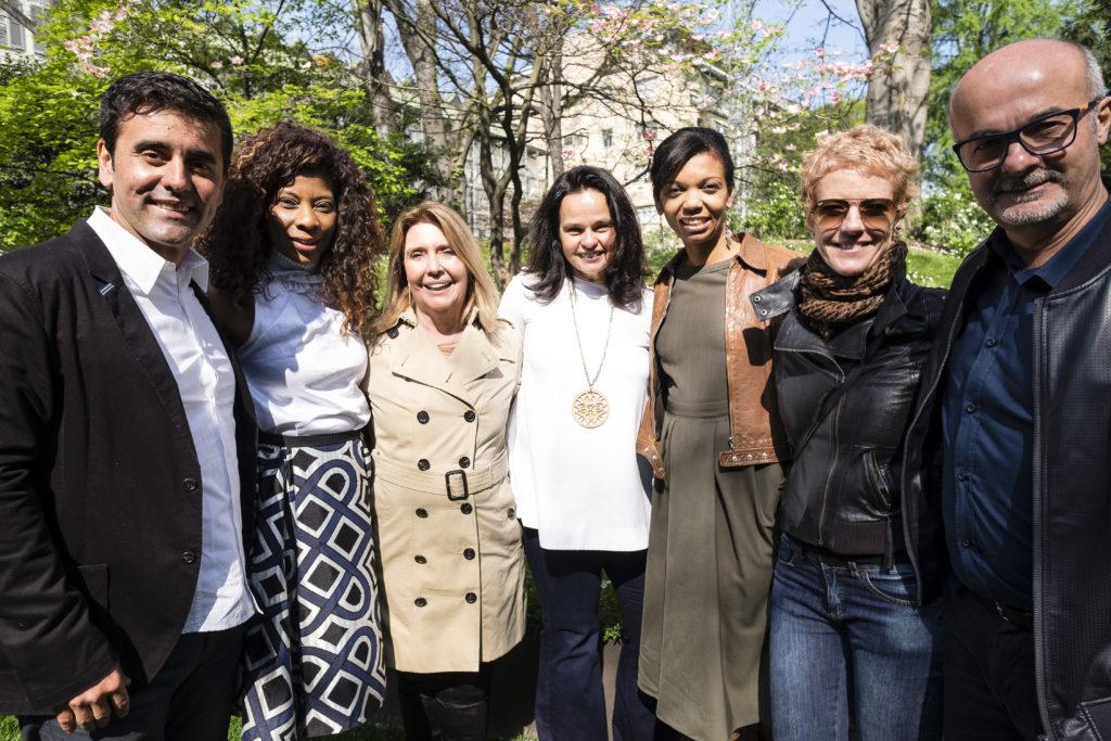 Ricardo Saint- Clair, Denise Brito, Dulce Ângela, Gisela Simas, Paula Acosta, Mariana Betting e Luiz Antonio Barros.