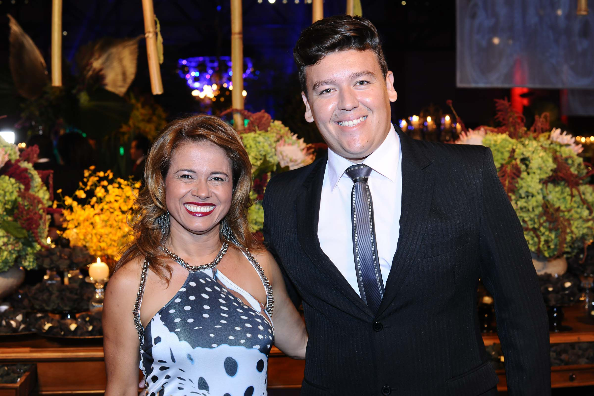 Eliane Oliveira e Jorge Nantes