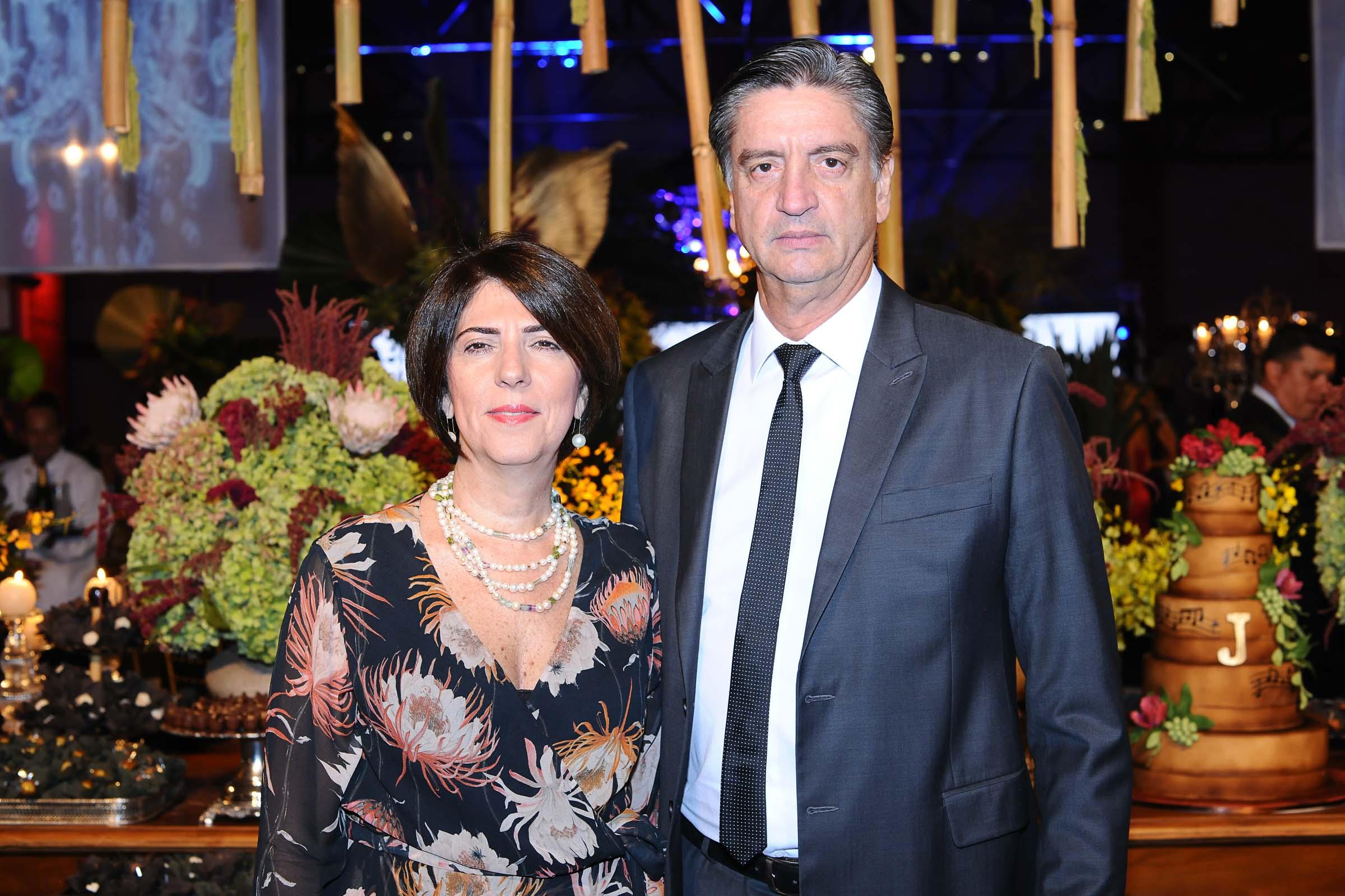 Maria Verônica Safadi e o deputado federal, Dagoberto Nogueira