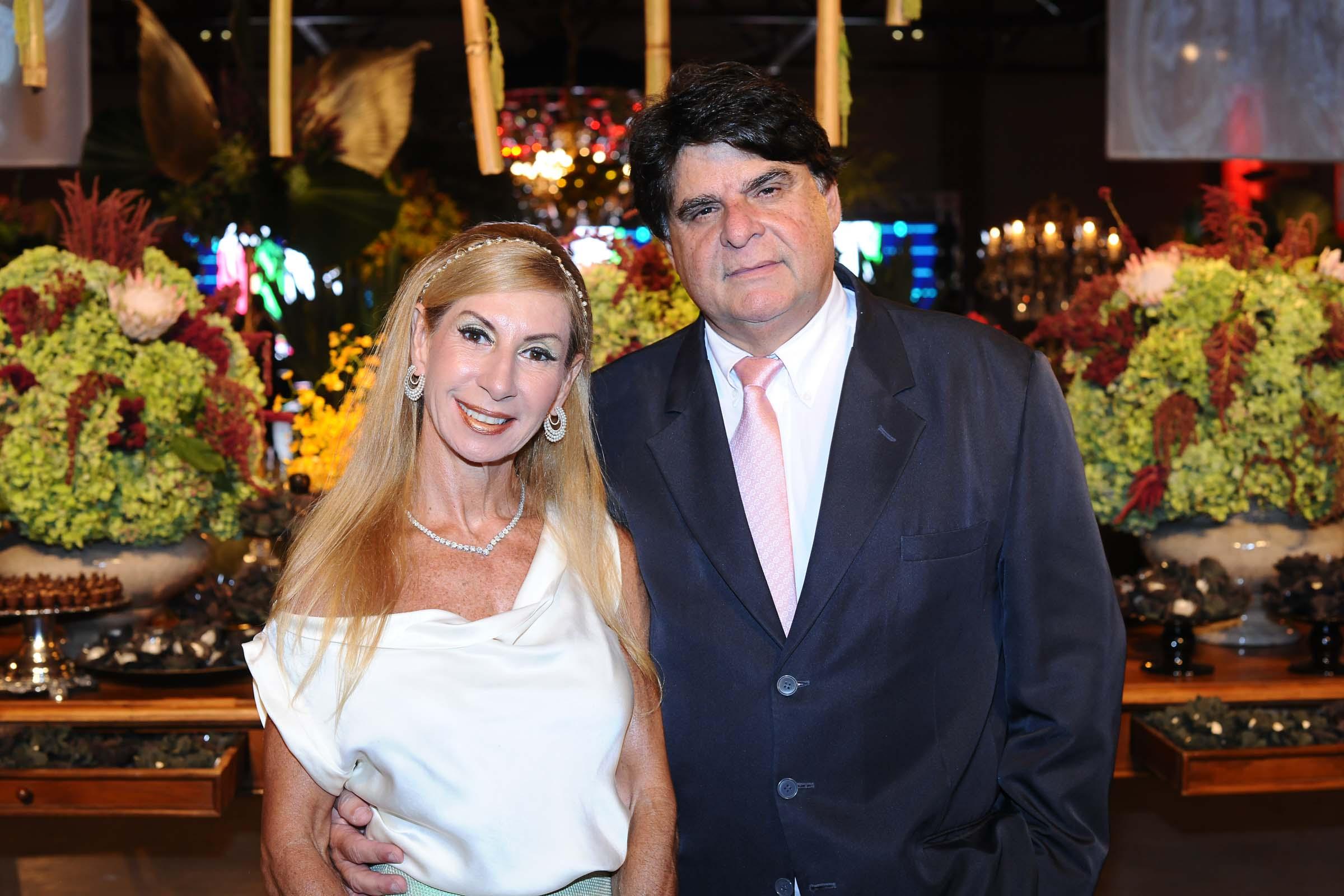O casal Adelina e Eduardo Spengler