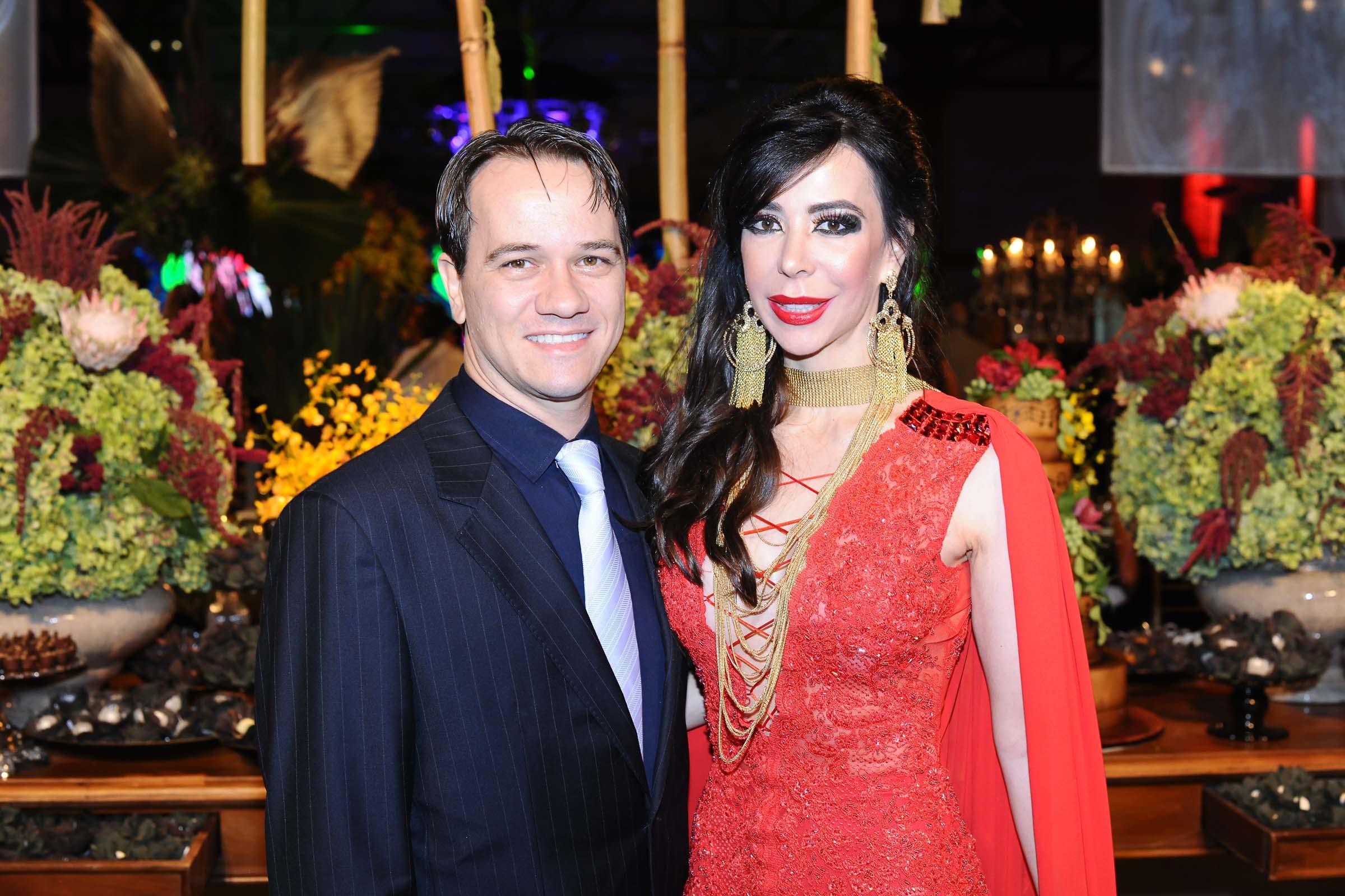 O casal Alexandre Ricardo Gewehr e Jussara Rebetchuk