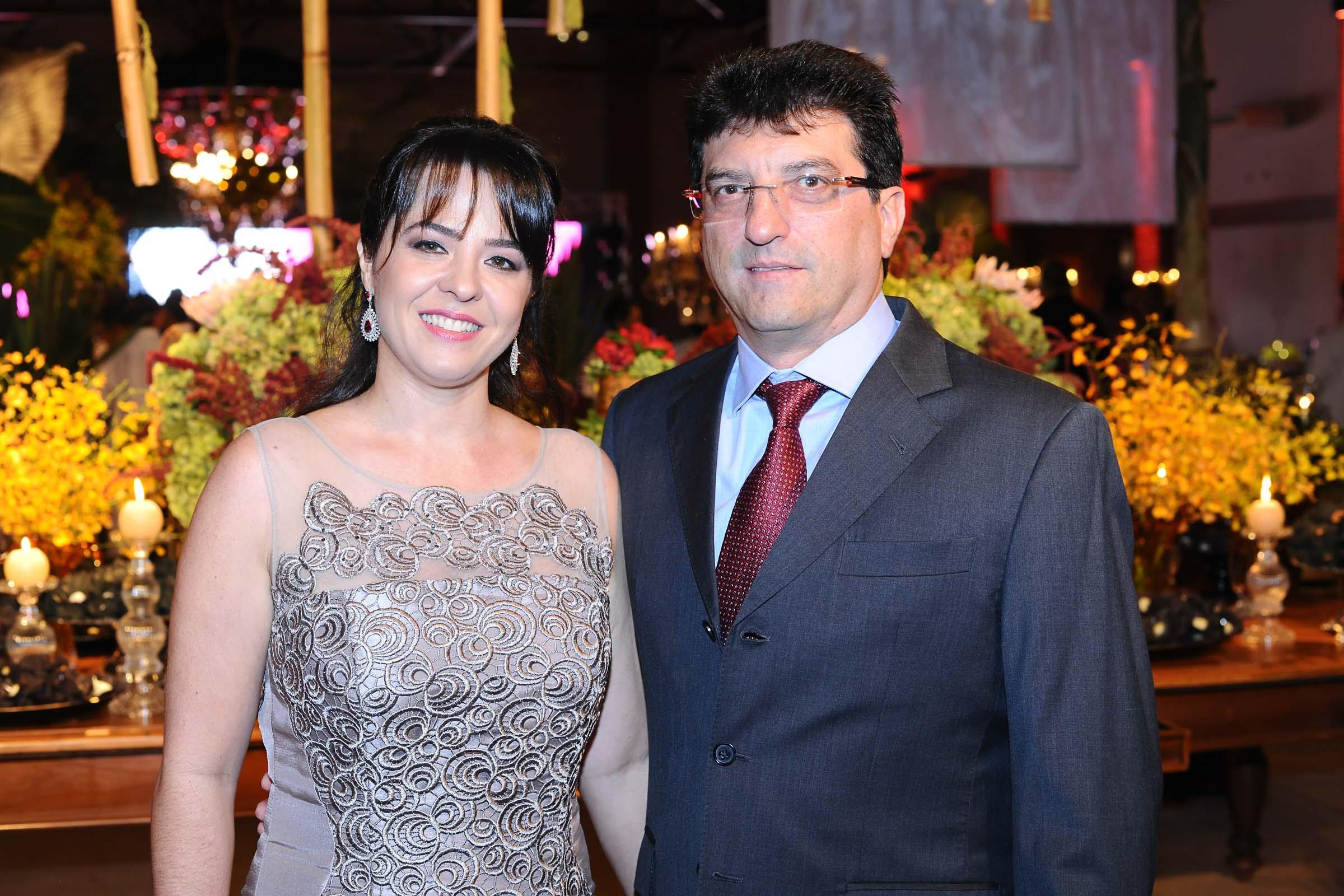 O casal Ana Christina e Gil Carlos de Camilo