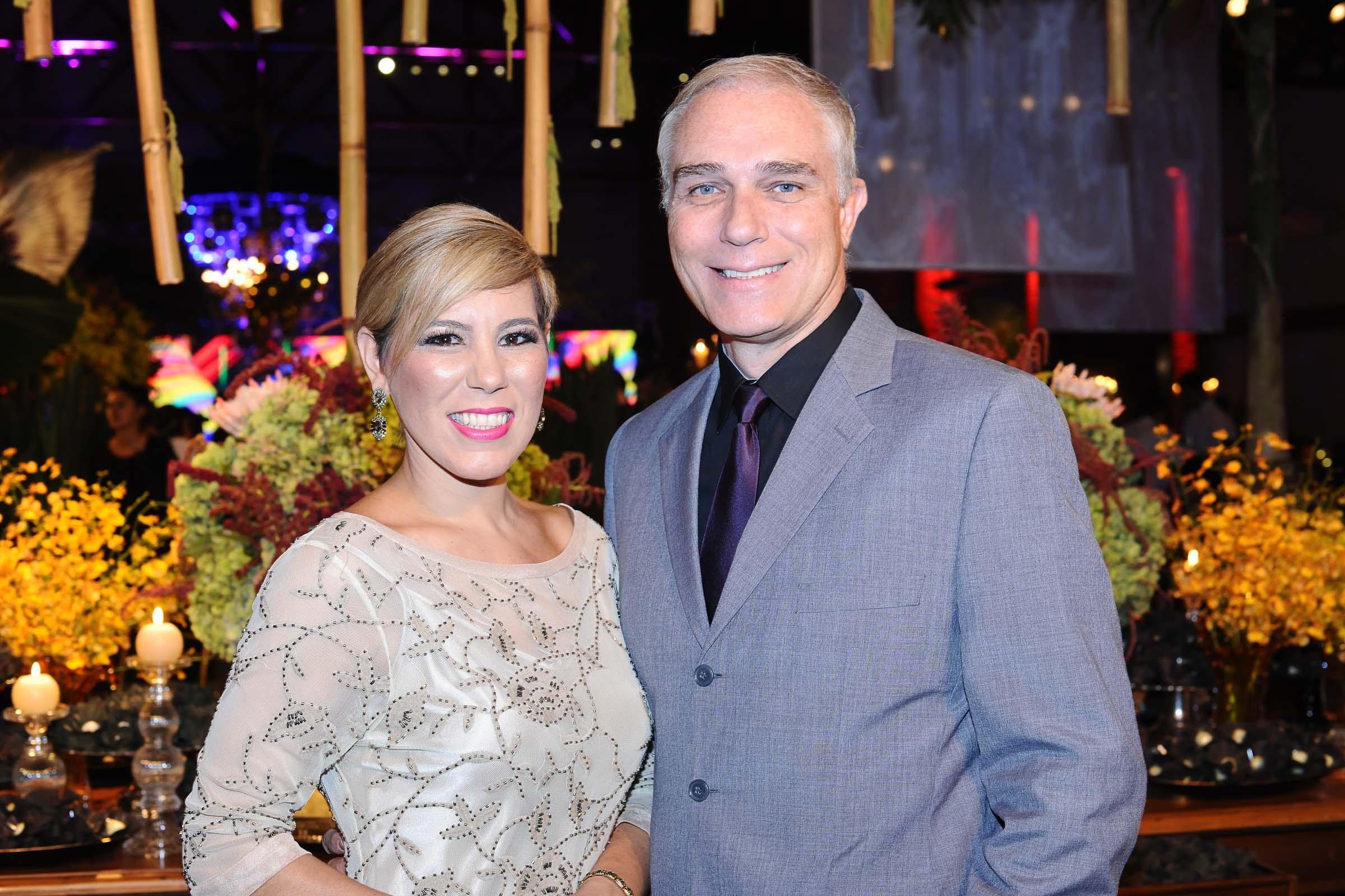 O casal Débora Quirino e Ogg Ibrahim