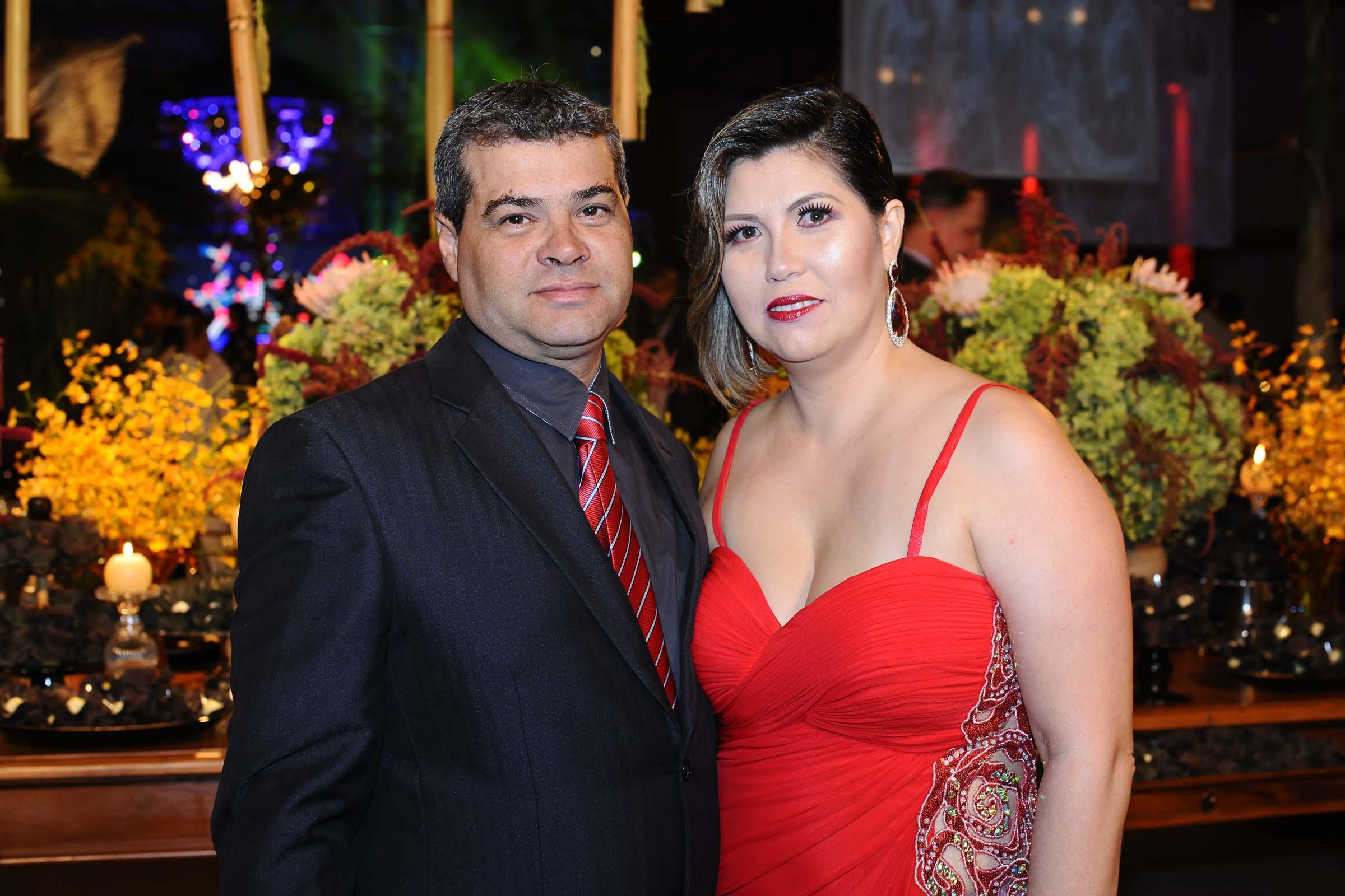 O casal Marijane e Ricardo Carrelo