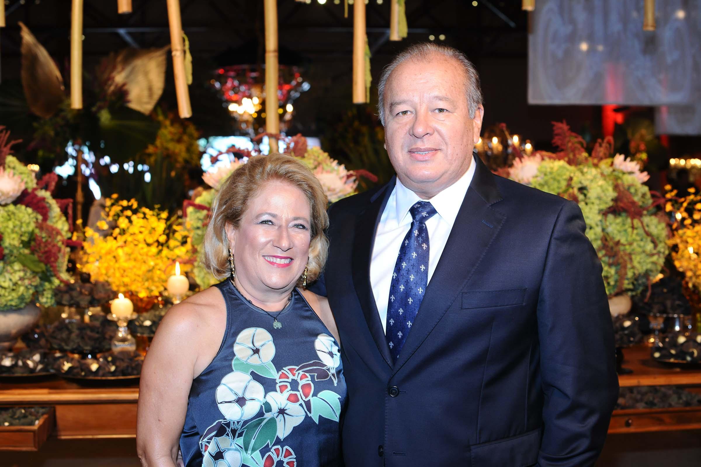 O casal Marisa Machado e Ricardo Koim