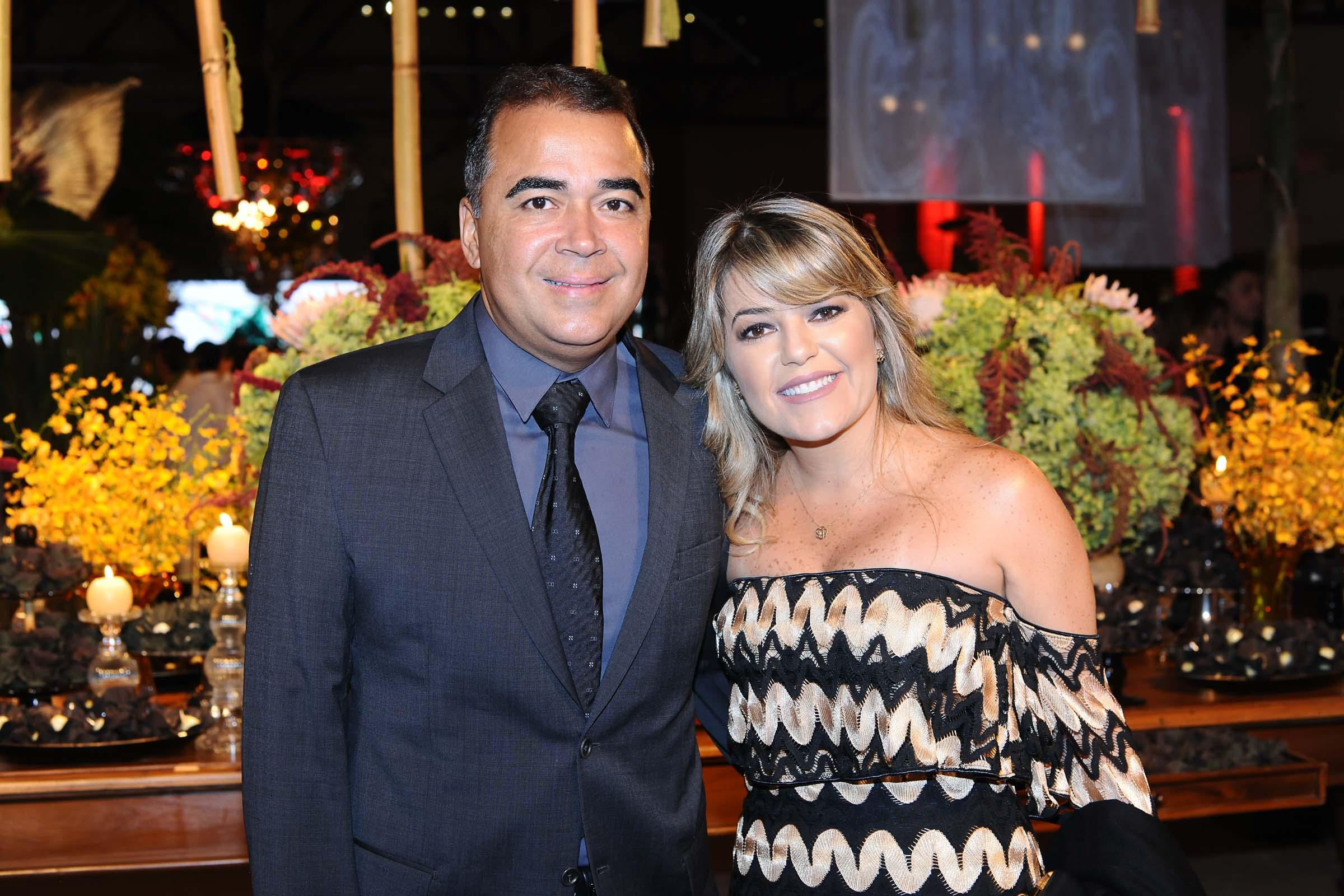 O casal Paulo Delmondes e Vera Maria