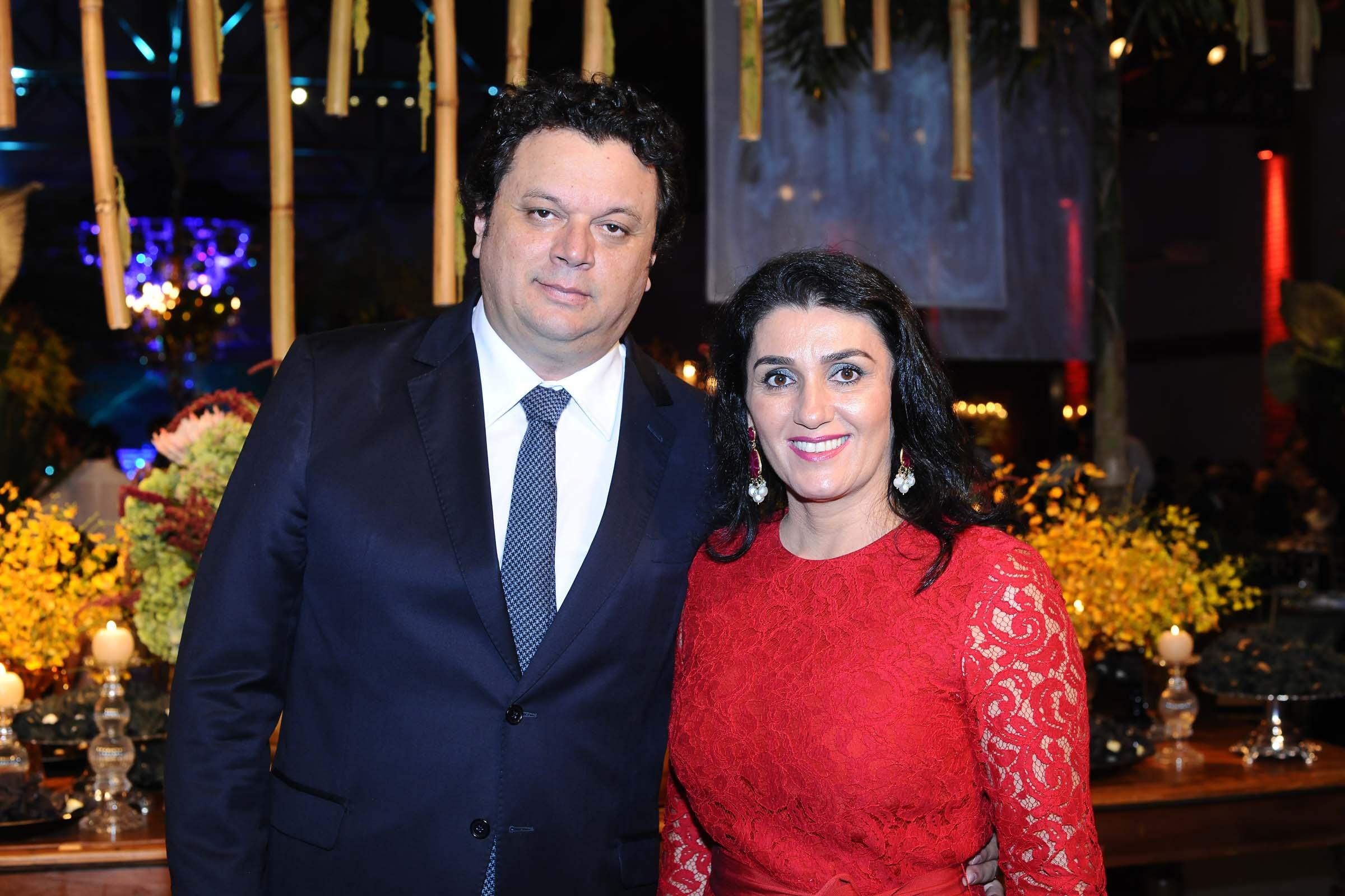O casal Paulo Matos e Liz Derzi