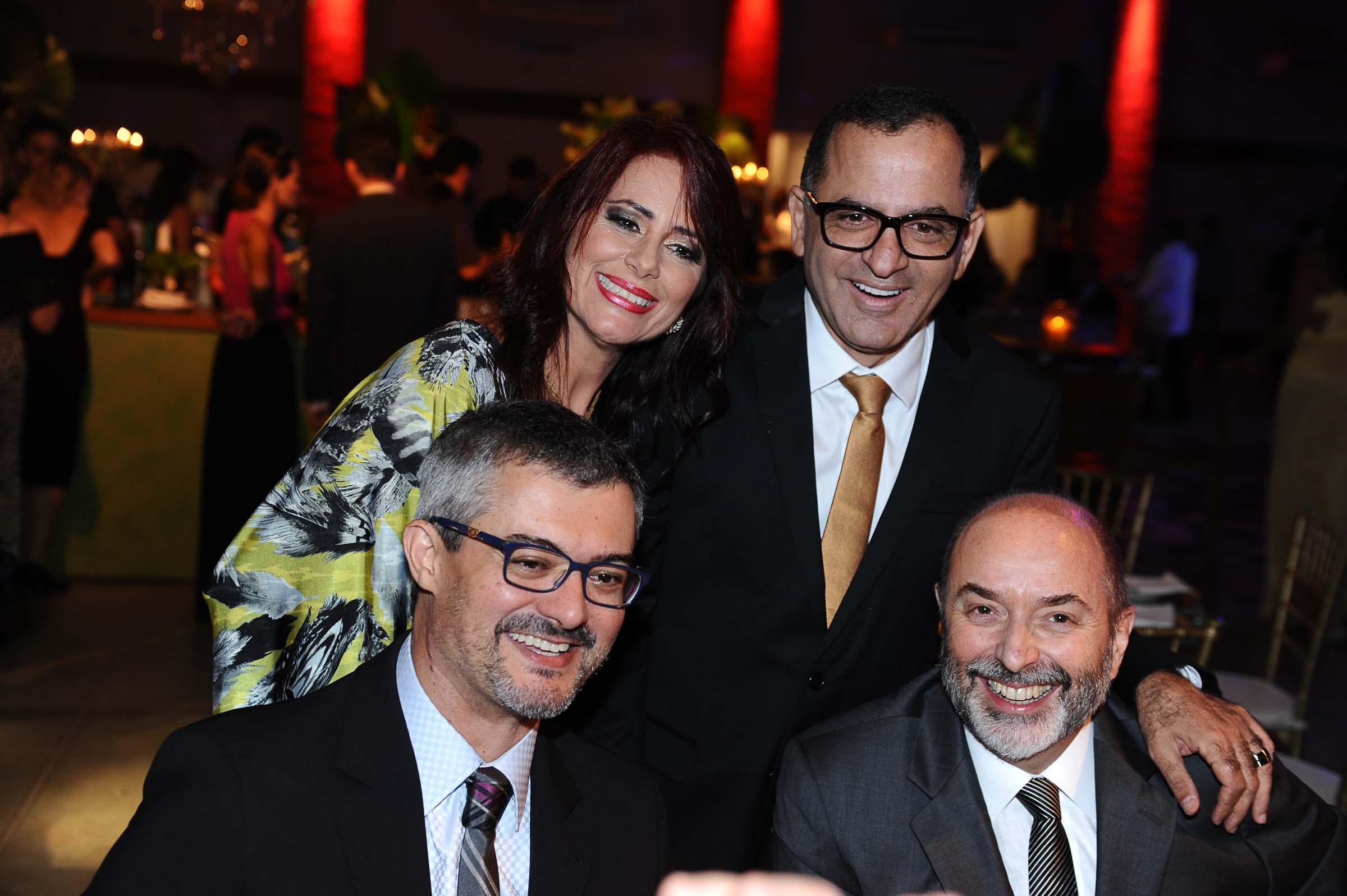 Rosi Mery Guidi, Jefferson de Almeida, Marcio Bezerra e Raul Borges Filho