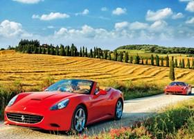 Descobrindo a Toscana com os poderosos motores da Ferrari por Itália em Português