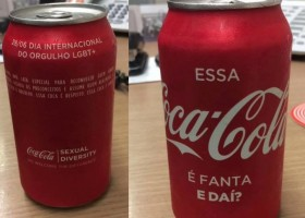"""Coca-Cola distribui a """"Coca que é Fanta"""""""