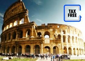 TAX FREE reembolso de suas compras na Itália por Itália em Português