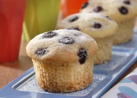 Minibolo de Blueberry Sem Lactose