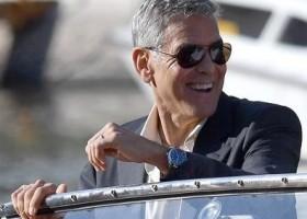 George Clooney usa Omega no 74ª Festival de Cinema de Veneza