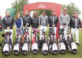 Michael Phelps e Michelle Monaghan são campeões do primeiro OMEGA Celebrity Masters de Golfe 2017