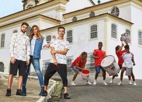 Coca-Cola Jeans cria figurino exclusivo para grupo Quabales