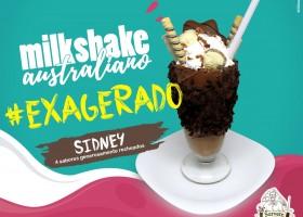 Sr. Sorvete lança linha de milk shake australiano