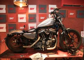 Harley Davidsons customizadas no Rock In Rio vão a leilão pela Cia Paulista de leilões