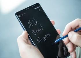 Galaxy Note8 possibilita aumentar a produtividade com a S Pen