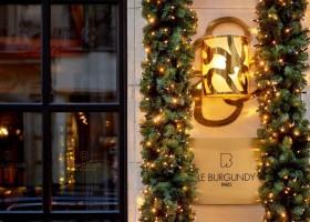 Natal repleto de delícias no Hotel Le Burgundy Paris