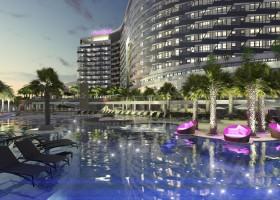 Hóspedes do Hard Rock Hotel em Caldas Novas terão piscinas termais e suítes de luxo inspiradas em astros do rock