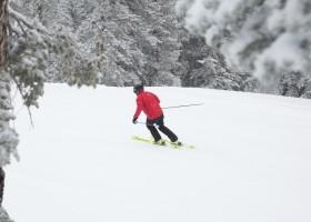 Frio intenso prolonga a temporada de esqui na Califórnia