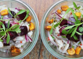 Receita de Ceviche do High Line Bar