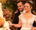 O animado casamento de Lorena Barros e Fernando Lima