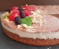 Receita de Torta Mousse Duo de chocolate