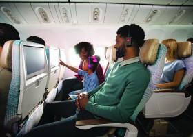 Emirates empolga cinéfilos com mais de 1.000 filmes a bordo