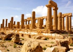 Uma viagem pelos tesouros da Sicília por Itália em Português