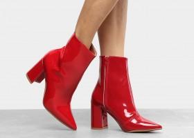 Trend alert Zattini: Bota vermelha