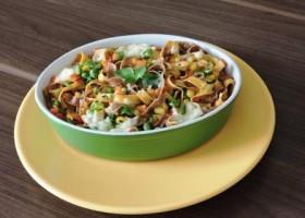 Aprenda a preparar um saboroso talharim vegetariano