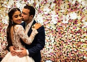 Flashes do casamento de Vanessa Chamoun e Fábio Trad Filho